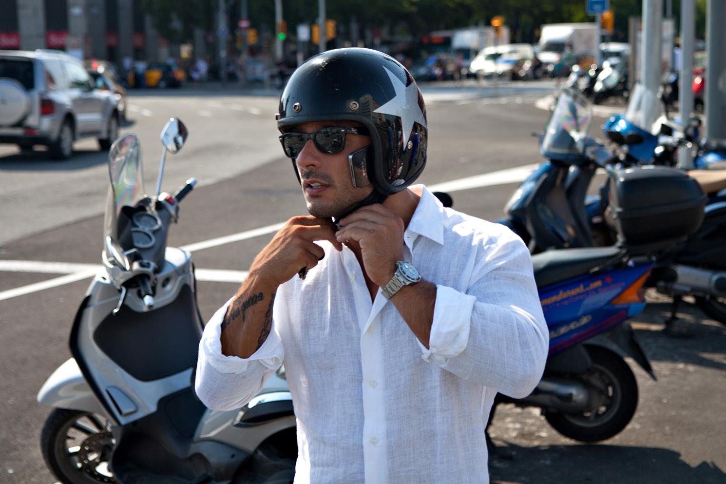 barcalona-biker